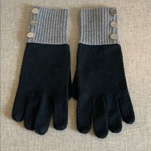 Tory Burch Knit Wool Gloves